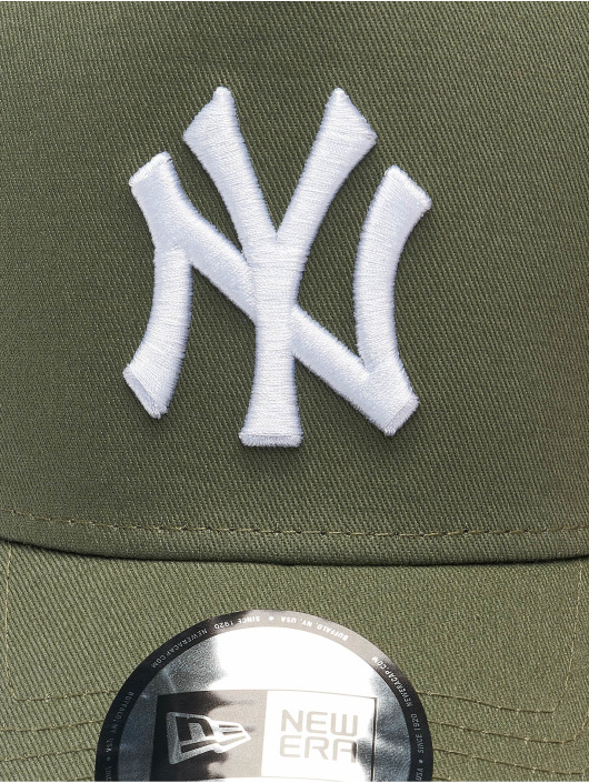 New Era Casquette Trucker mesh MLB New York Yankees League Essential 940 AF olive