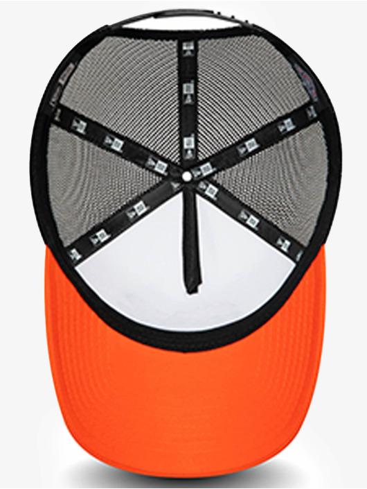 New Era Casquette Trucker mesh Minor League Charlotte Knights orange