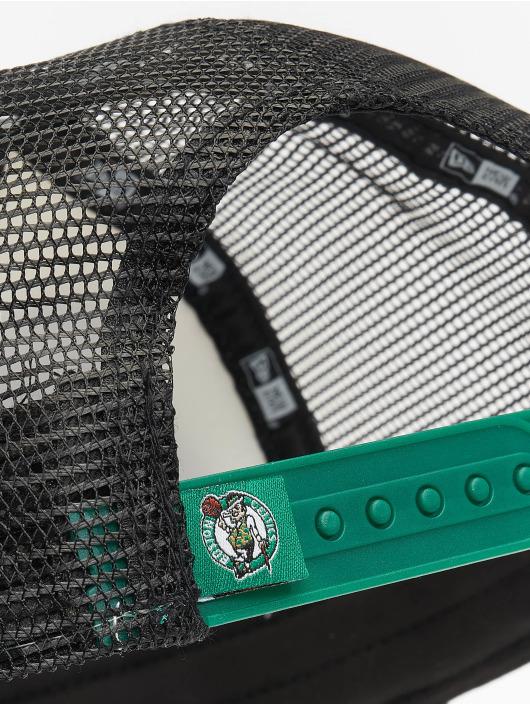 New Era Casquette Trucker mesh NBA Boston Celtics Retro Pack 9Forty AF vert