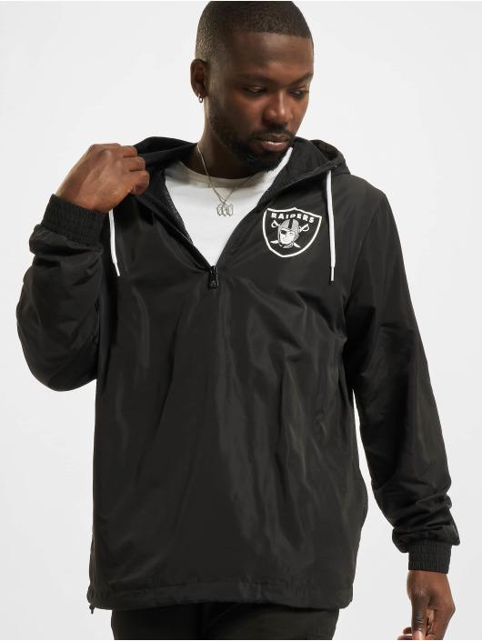 New Era Chaqueta de entretiempo NFL Las Vegas Raiders Outline Logo negro