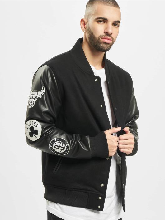 Varsity Jacket Era Nba Patch Black New 0wOPnk8
