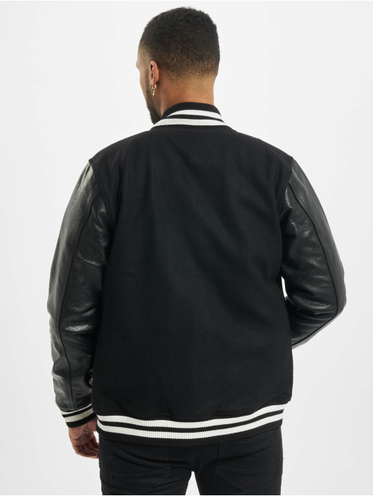 New Era College Jacke Image Varsity schwarz