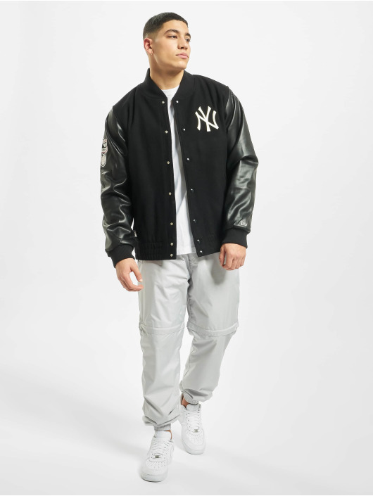 New Era College Jacket MLB NY Yankees Heritage black