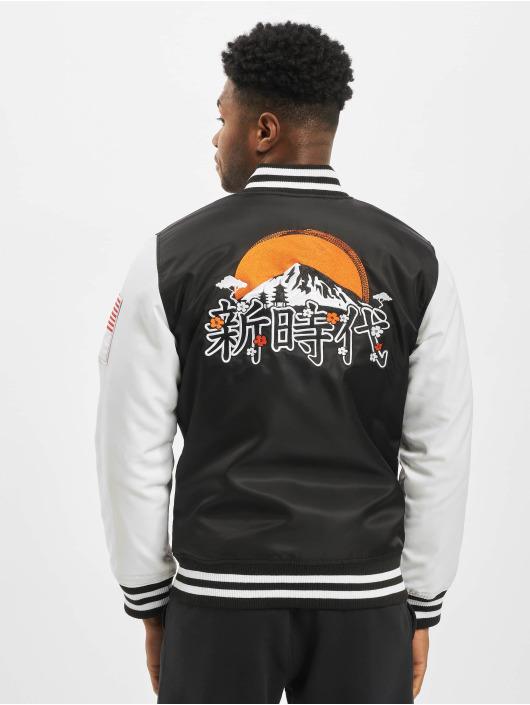 New Era College Jacket Far East Varsity black