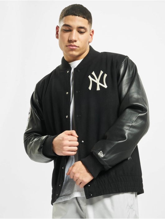 New Era College Jackets MLB NY Yankees Heritage czarny