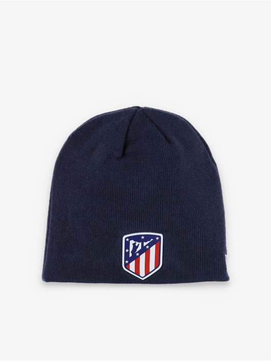 New Era Czapki Atletico Madrid Skull Knit niebieski