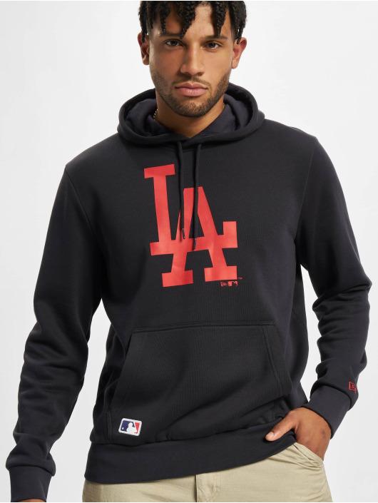New Era Felpa con cappuccio MLB Los Angeles Dodgers Seasonal Team Logo blu