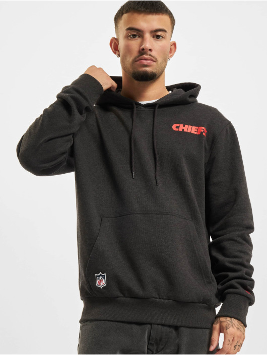New Era Felpa con cappuccio NFL Kansas City Chiefs Outline Logo PO grigio