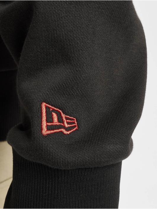 New Era Felpa con cappuccio NFL San Francisco 49ers Outline Logo PO nero