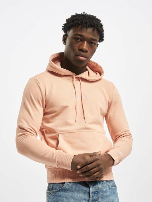 New Era Felpa con cappuccio Essential rosa chiaro