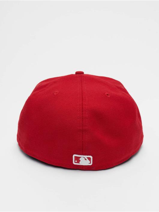 New Era Fitted Cap MLB Basic NY Yankees 59Fifty èervená