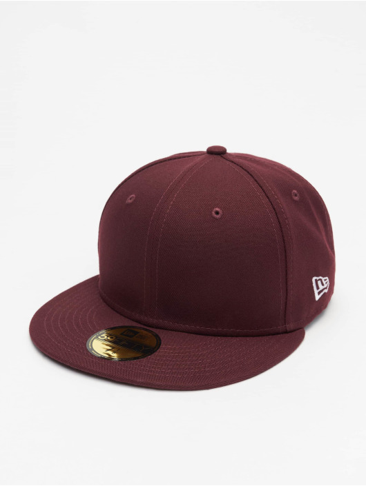 New Era Fitted Cap Essential 59Fifty èervená