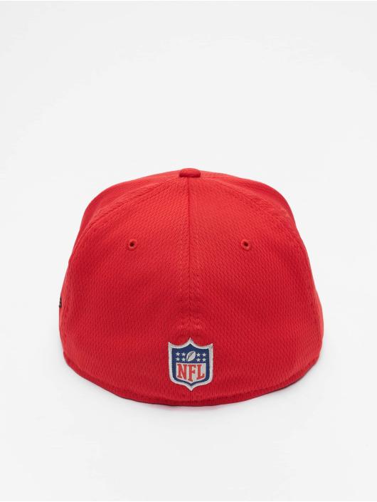 New Era Fitted Cap NFL Kansas City Chiefs Sideline Road 59Fifty èervená