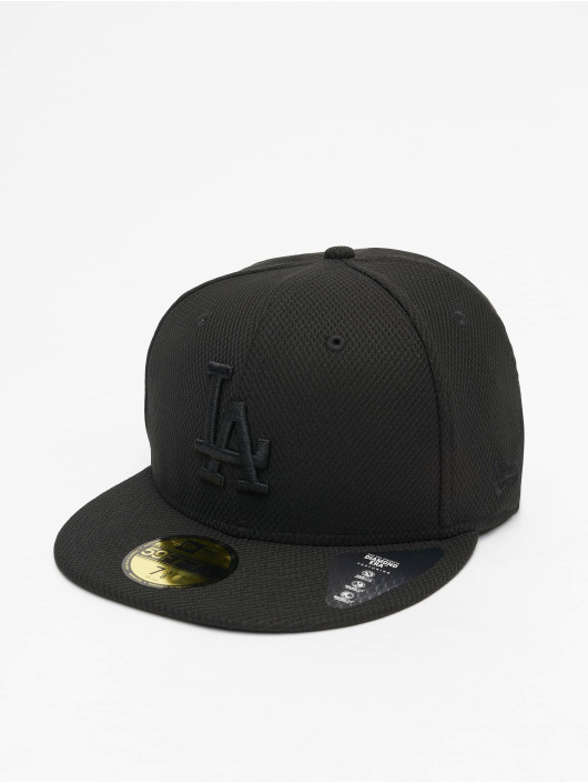 New Era Fitted Cap MLB LA Dodgers Diamond Era 59Fifty èierna