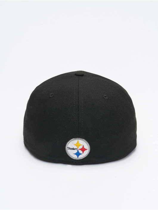 New Era Fitted Cap NFL Pittsburgh Steelers Team Tonal 59Fifty èierna
