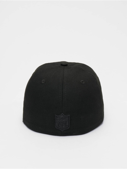 New Era Fitted Cap NFL Oakland Raiders Poly Tone 59fifty čern