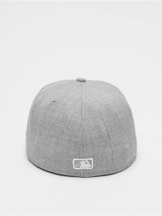 New Era Fitted Cap MLB League Basic NY Yankees 59Fifty šedá