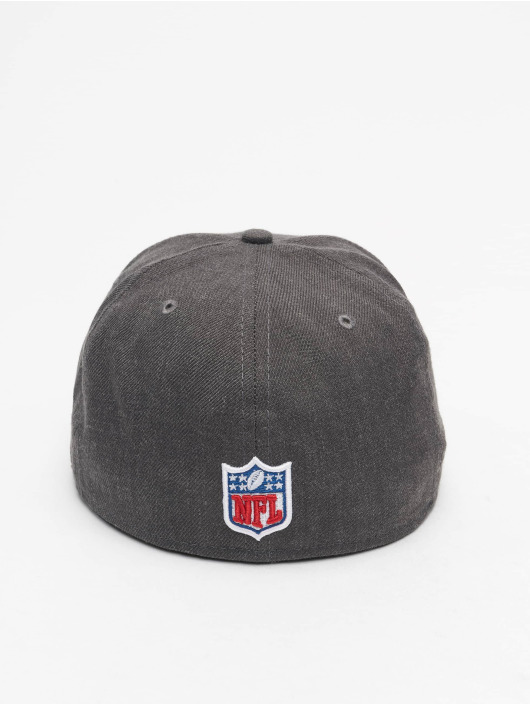 New Era Fitted Cap NFL Oakland Raiders Essential 59Fifty šedá