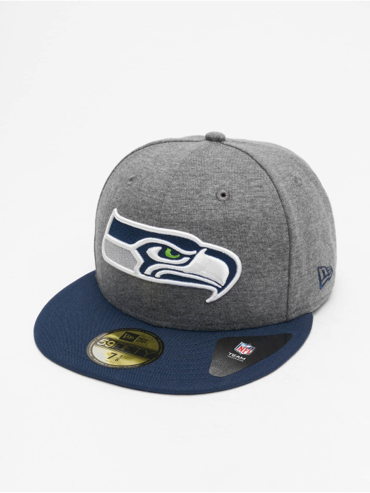 New Era Fitted Cap NFL Seattle Seahawks Jersey Essential 59Fifty šedá
