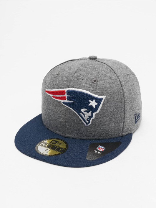 New Era Fitted Cap NFL New England Patriots Jersey Essential 59Fifty šedá