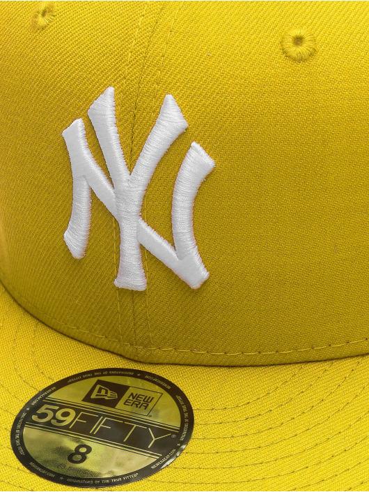 New Era Fitted Cap MLB Basic NY Yankees 59Fifty žltá