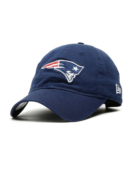 New Era Fitted Cap Nfl Unstructured New England Patriots blå