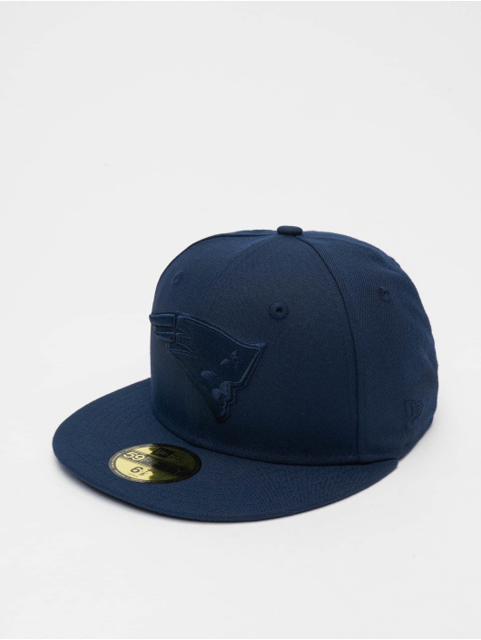 New Era Fitted Cap Poly Tone 59fifty blå
