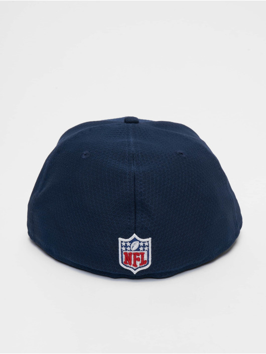 New Era Fitted Cap NFL Seattle Seahawks Hex Era 59fifty blå