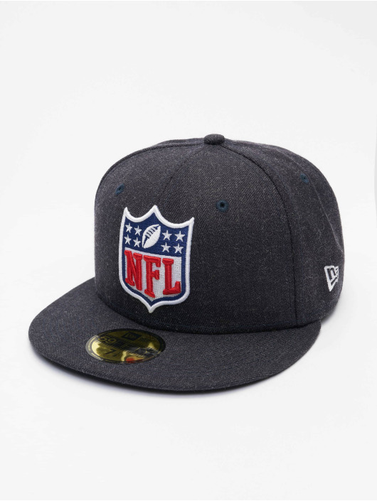 New Era Fitted Cap NFL Official Logo 59Fifty blå