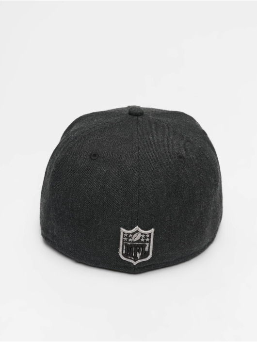 New Era Fitted Cap NFL Heather Oakland Raiders 59 Fifty black
