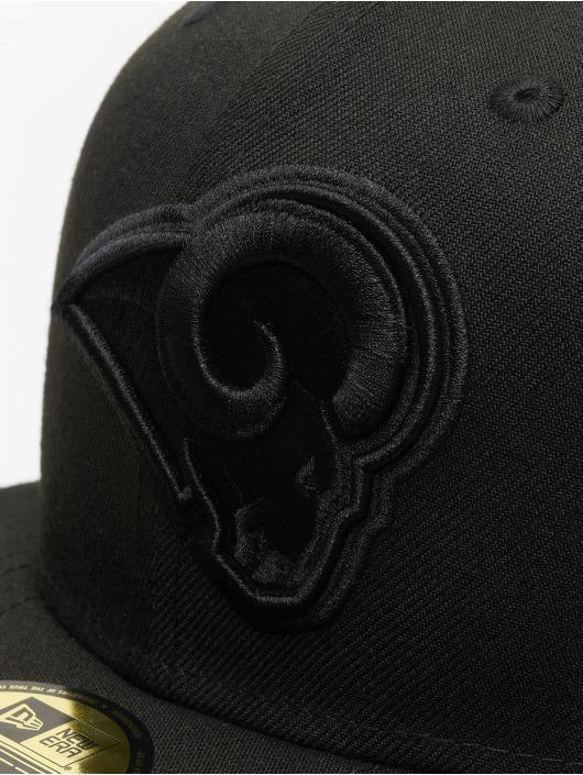 New Era Fitted Cap NFL LA Rams 59Fifty black