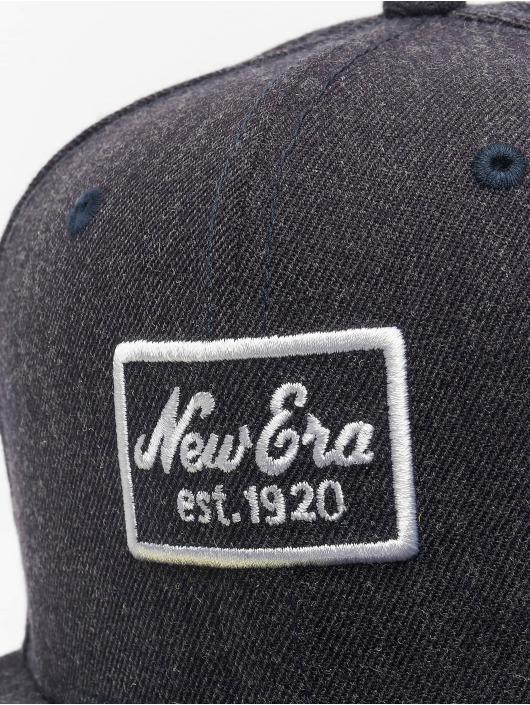 New Era Fitted Cap Heather 59 Fifty blau