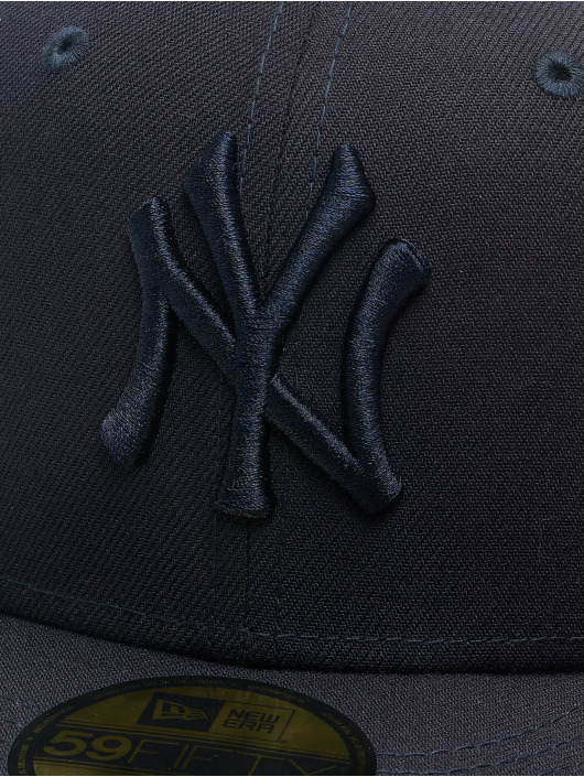 New Era Fitted Cap MLB NY Yankees Essential 59Fifty blau