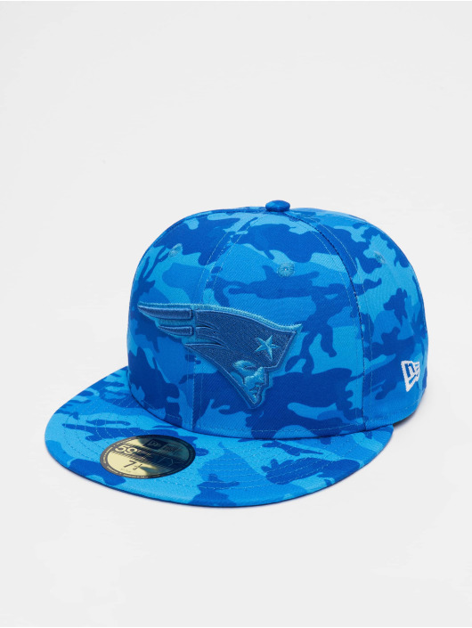 New Era Fitted Cap NFL New England Patriots Camo 59fifty blauw