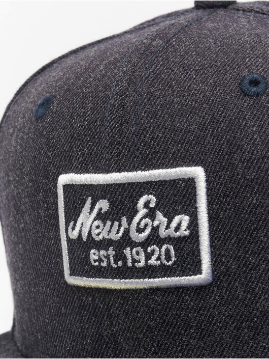 New Era Fitted Cap Heather 59 Fifty blue