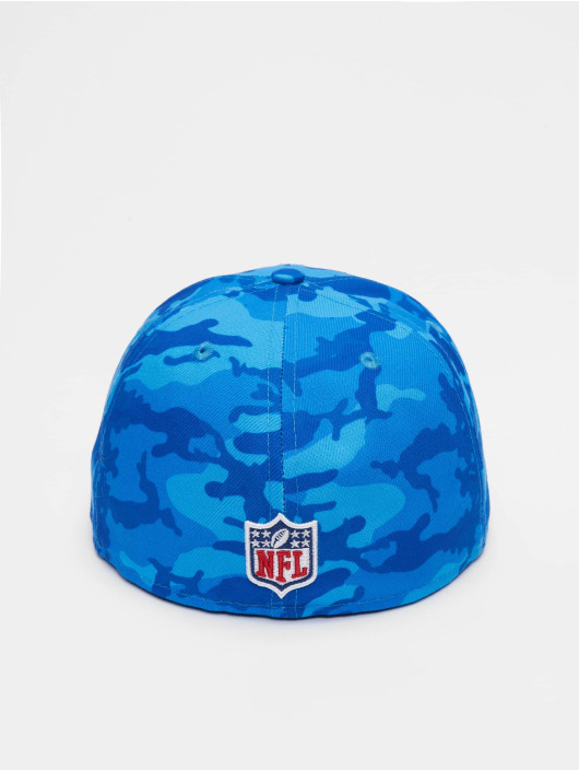 New Era Fitted Cap NFL New England Patriots Camo 59fifty blue