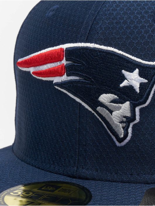 New Era Fitted Cap NFL New England Patriots Hex Era 59fifty blue