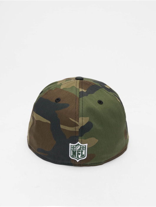 New Era Fitted Cap NFL Greenbay Packers 59Fifty camouflage