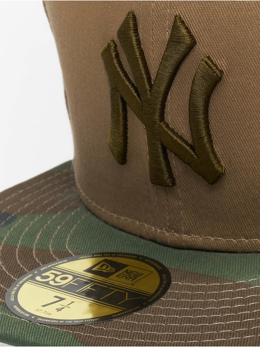 New Era Fitted Cap MLB Camo Essential NY Yankees 59Fifty camouflage
