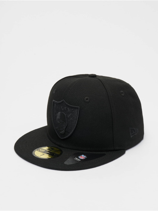 New Era Fitted Cap NFL Oakland Raiders Poly Tone 59fifty czarny