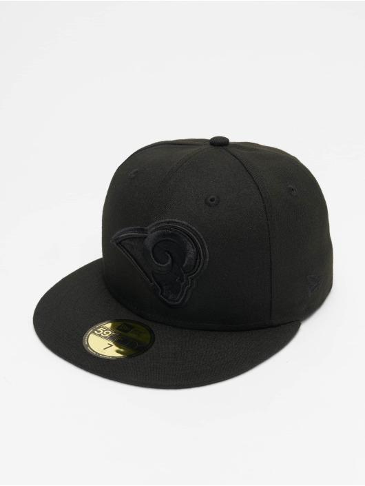 New Era Fitted Cap NFL LA Rams 59Fifty czarny