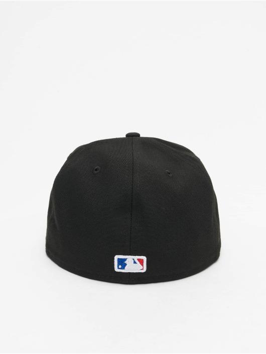 New Era Fitted Cap MLB LA Dodgers League Essential czarny