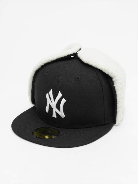 New Era Fitted Cap MLB NY Yankees League Essential Dogear czarny