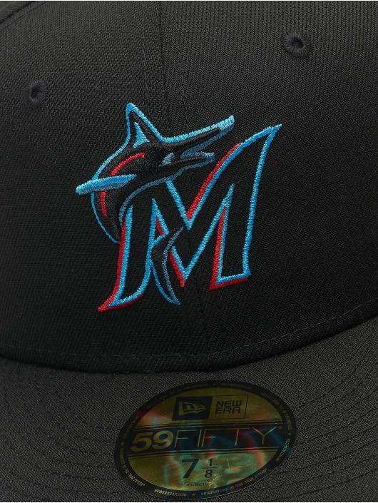 New Era Fitted Cap MLB Miami Marlins ACPERF czarny