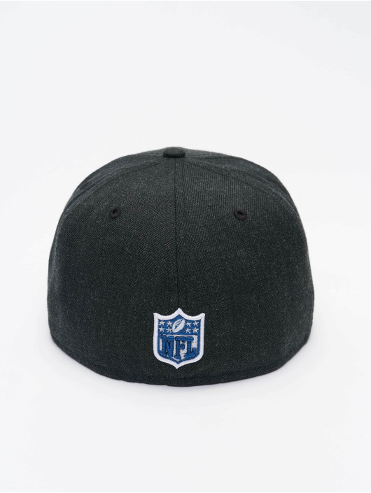 New Era Fitted Cap NFL New England Patriots 59Fifty czarny