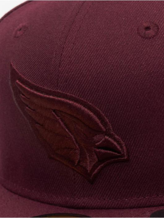 New Era Fitted Cap NFL Arizona Cardinals Poly Tone 59Fifty czerwony