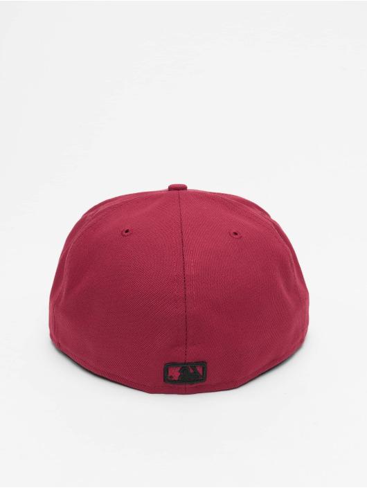 New Era Fitted Cap MLB LA Dodgers League Essential 59Fifty czerwony