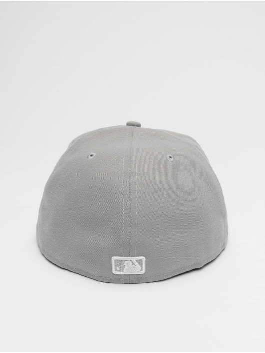 New Era Fitted Cap MLB Basic NY Yankees 59Fifty grå