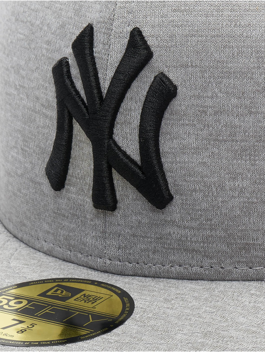 New Era Fitted Cap MLB NY Yankees Shadow Tech 59fifty grå