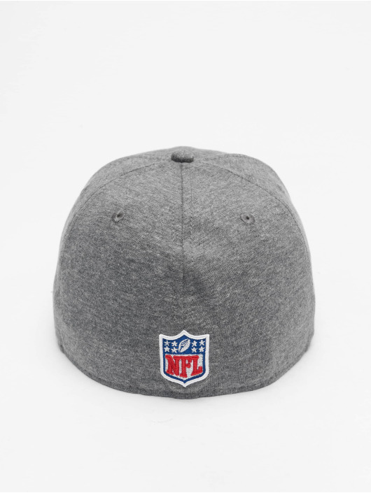 New Era Fitted Cap NFL New England Patriots Jersey Essential 59Fifty grå